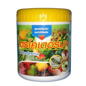 THAIGREENAGRO ไตรโคเดอร์ม่า (ไทยกรีนอะโกร THAIGREEN SHOP สินค้าการเกษตร จุลินทรีย์รักษาโรครากเน่าโคนเน่า ใบจุด ใบด่าง ใบดำ)