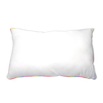 Replica Shop หมอนหนุนสูญญากาศ รุ่น Rainbow Edge - White
