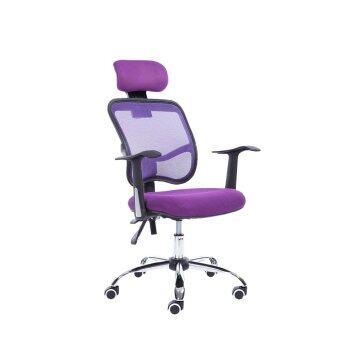 B&G โฮมออฟฟิศ เก้าอี้สำนักงาน (Purple) - H1-B