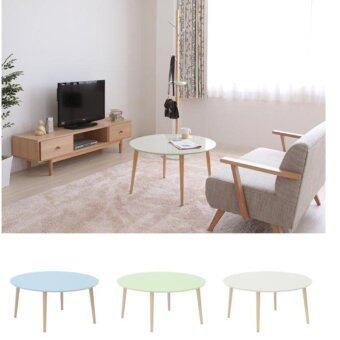 โต๊ะญี่ปุ่น ปรับระดับได้ สำหรับวางของอเนกประสงค์ สีขาว – Colorful table with height adjustable – white color
