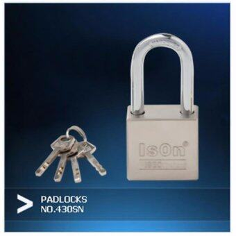 ISON แม่กุญแจเหล็กแกนทองเหลือง 40 มม.430SN