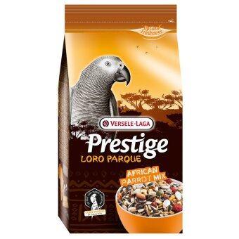 Versele-Laga โลโรพาร์ค เพรสทีจ อาหารนก นกแก้วแอฟริกัน อาฟริกันเกรย์ จาร์ดีน ซีเนกัล สูตรโลโรพาร์ค African Parrot Loro Parque Mix Bird Food African Grey Jardine's Senegal,1 Kg.