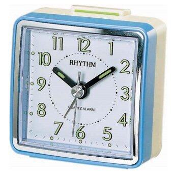 Rhythm นาฬิกาปลุก รุ่น CRE210NR04 - Pearl Blue