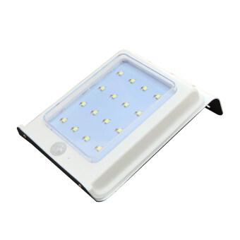 โคมไฟผนัง พลังเเสงอาทิตย์ 16 SMD LED พร้อม Motion