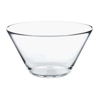 ชามแก้วใสภาชนะเสิร์ฟชามสลัดแก้ว