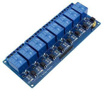 Harga 5V 8 Channel Relay Board Module for Arduino Raspberry Pi ARM AVR DSP PIC