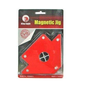KING EAGLE จิ๊กแม่เหล็กเอนกประสงค์ไซส์ XL ( สีแดง )