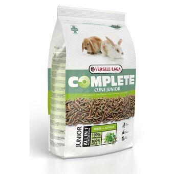 Versele-Laga อาหาร ลูกกระต่าย โปรตีนและแคลเซียมสูง ลูกกระต่ายแข็งแรง โตไว ด้วยไฟเบอร์สายพันธุ์ยาวจากอัลฟาฟา คอมพลีท Cuni Junior Complete Rabbit Food,1.75kg