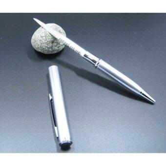 ปากกามีด เหมาะสำหรับใช้พกเพื่อป้องกันตัว แถมฟรี ไส้ปากกาสำรอง มูลค่า 45บาท