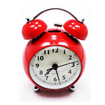 iBettalet นาฬิกาปลุก นาฬิกาตั้งโต๊ะ รุ่น WK-7701-2 ( สีแดง )