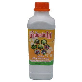 ASOKE wood vinegar น้ำส้มควันไม้ ผลิตจากควันไม้แท้100% 1ลิตร (6ขวด)