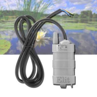 Elit โซล่าปั๊ม ปั๊มน้ำแบบแช่ พลังงานแสงอาทิตย์ 6-12 โวลต์ สำหรับทำน้ำพุ น้ำตกขนาดเล็ก หรือตู้ปลา