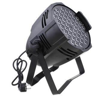 โคมไฟเวที ไฟพาร์ LED 54 ดวง รุ่น LED 3W RGB 3in1- สีดำ