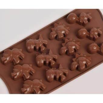 แม่พิมพ์ซิลิโคน การ์ตูนน่ารัก แก๊งค์ป่วนล้านปี พิมพ์วุ้น ทำน้ำแข็ง ทำ chocolate food grade