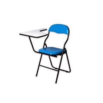 Asia เก้าอี้เลคเชอร์ C56 เบาะพับได้ สีฟ้า