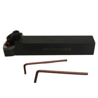 MWLNR2020K08 20 x 125มมกลึงด้ามเครื่องมือดัชนีปิดที่ 2 x ประแจสำหรับ WNMG0804