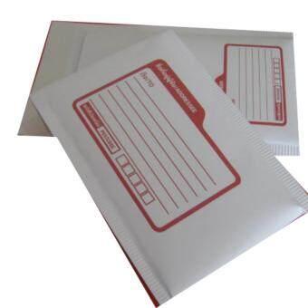 ซองกันกระแทกสีขาวเคลือบลามิเนต ขนาด 7x10 นิ้ว มีพิมพ์จ่าหน้า (50 ใบ)