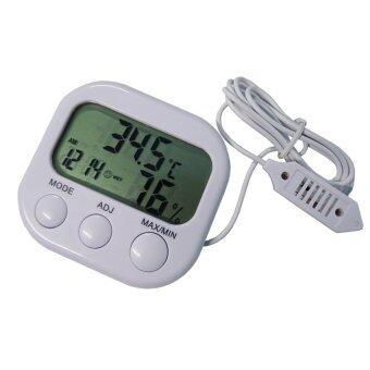 dubbletool เครื่องวัดอุณหภูมิ นาฬิกาในตัวTH638A
