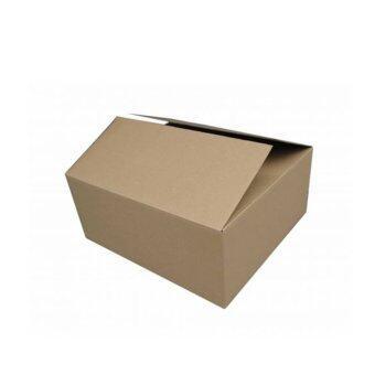 Awesome pack กล่องกระดาษลูกฟูกฝาชน No.3 (36x31x26 cm. 20 ใบ/pack)
