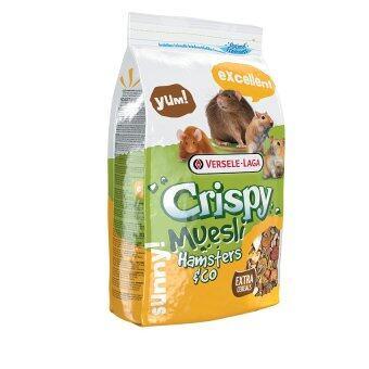 Versele อาหารแฮมสเตอร์สูตรประหยัด คริสปี้ แฮมสเตอร์ Crispy Muesli Hamster&Co. Hamster Food 1 Kg.