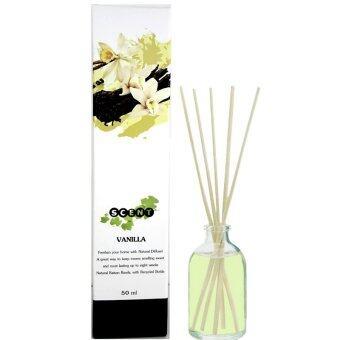 Thai scent Nature ก้านไม้หอมระเหย กลิ่น Vanilla