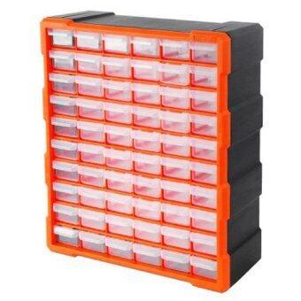 Mustme Tactix 320638 กล่องเครื่องมือ กล่องอะไหล่ ลิ้นชัก 60 ช่อง