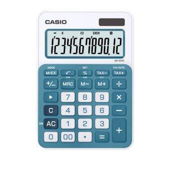 แนะนำ Casio เครื่องคิดเลข ตั้งโต๊ะ รุ่น MS-20NC-BU (Blue) ขายถูก