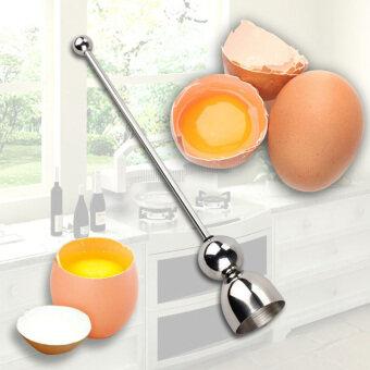 YBC ใหม่ตัดไข่สามฟองสเตนเลสเครื่องครัวเครื่องมือเปิด