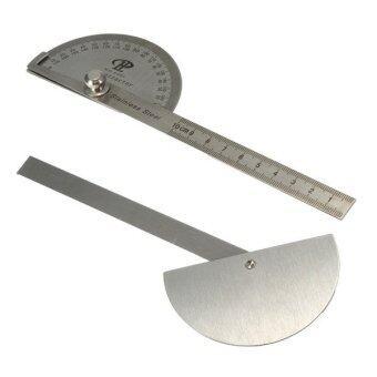 ไม้วัดมุมองศาค้นหาเครื่องมือช่างเครื่องวัดการออกแบบกฎเหล็ก (สแตนเลส)