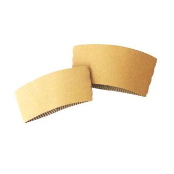 Goodwill ปลอกกระดาษลูกฟูก Size S สำหรับสวมแก้วกระดาษผนังชั้นเดียว 8 ออนซ์ 1,000อัน