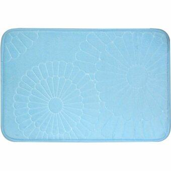 Elegance พรมห้องน้ำ Soft F-Blue 40x60 cm.