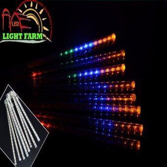 Light Farm ไฟดาวตก LED 8 แท่ง 30 cm สีขาว แพ็ค 1 ชุด