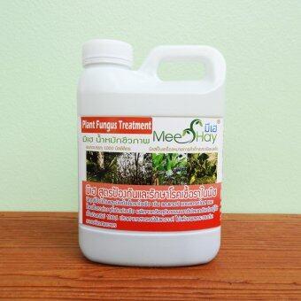 Meehay มีเฮ® สูตรป้องกันและรักษาโรคเชื้อราในพืช ขนาด 1 ลิตร (น้ำหมักชีวภาพสำหรับพืช)