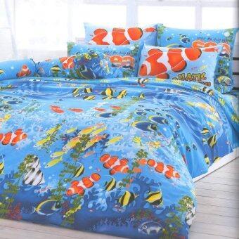 โตโต้ ชุดเครื่องนอน ลายเทรนดี้ ผ้าปู รุ่น TT227 TOTO Trendy Bed Sheet No. TT227