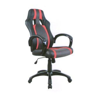 TGCF เก้าอี้นักแข่ง รุ่น TGFY-1510 - สีดำ/แดง
