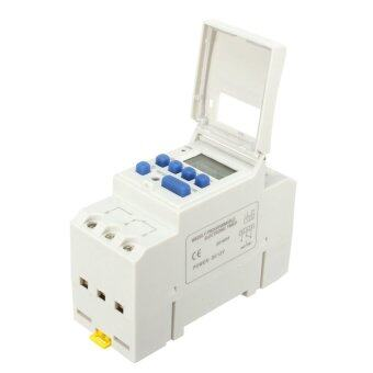 Harga THC 15A Digital LCD Programmable Timer Time Relay Switch AC12V - intl