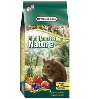 Versele อาหารแฮมสเตอร์แคระ เนเจอร์ Mini Hamster Nature, 400 g.