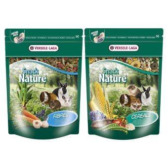 Versele-Laga ขนมเพิ่มไฟเบอร์ / ธัญพืช อาหาร กระต่าย กระรอก แก๊สบี้ แฮมสเตอร์ ชินชิล่า เฟอร์เร็ท หนู แฮมสเตอร์แคะ Snack Nature - Fibres/Cereals Rabbit Food Chinchilla Hamster Cavy Guinea Pig Ferret 500 g. Set 2 Pcs.