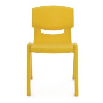 Apex เก้าอี้พลาสติกเอนกประสงค์ สำหรับเด็กโต รุ่น YCX-004 M (สีเหลือง)
