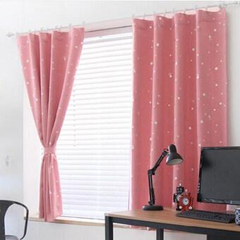 เป็นลมร้อนหน้าต่างทึบ Curtai สีชมพู