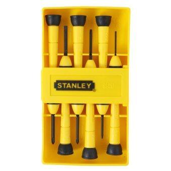 STANLEY ชุดไขควงซ่อมนาฬิกา 6 ชิ้น