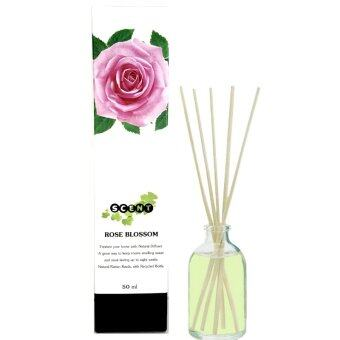 Thai scent Nature ก้านไม้หอมระเหย กลิ่น Rose