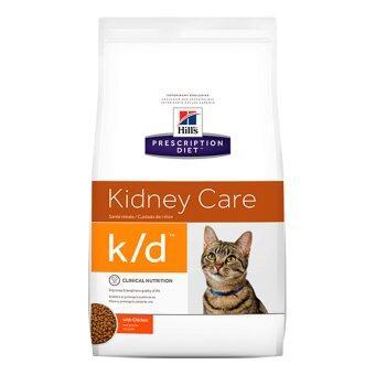 Hill's Prescription Diet k/d Feline Renal Health อาหารแมวชนิดเม็ด สูตรประกอบการรักษาโรคไต ขนาด3.85กก.