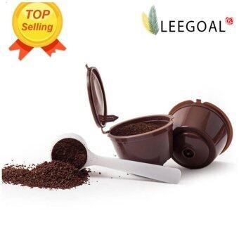 Leegoal รีฟิลเนสกาแฟ Dolce Gusto กรองถ้วยยาเข้ากันได้กับมินิผม Genio ขลุ่ยผิว Esperta และ Circolo