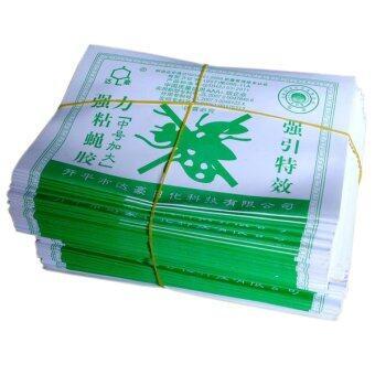 Dahao แผ่นกาว แมลงวัน กาวดักแมลงวัน 300 แผ่น