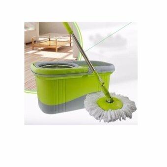 Mastersat ชุดถังปั่นไม้ม็อบถังปั่นพลาสติก 2 ระบบ รุ่น M1 (สีเขียว)