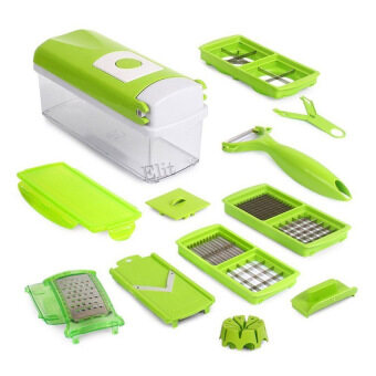 Elit One Second Slicer ชุดหั่นผัก สไลด์ผักอเนกประสงค์ - สีเขียว
