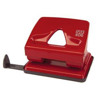 SAX เครื่องเจาะกระดาษ Elegant (L) รุ่น 406 - Red
