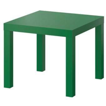 โต๊ะข้าง โต๊ะรับแขก วางข้างโซฟา วางข้างเตียงนอน สีเขียว ขนาด55x55x45ซม.CK