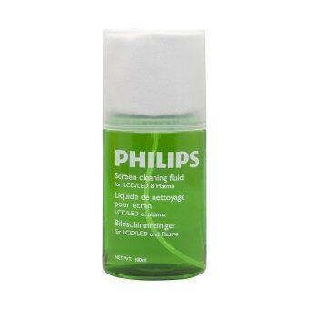 Philips อุปกรณ์ทำความสะอาดหน้าจอ Screen cleaner LCD/ LED/ Plasma 200ml รุ่น SVC1116G/10